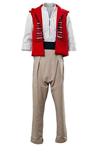 MingoTor Prinz Aladdin Outfit Cosplay Kostüm Herren L