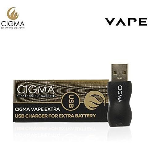 Cigma Vape USB para batería adicional | Cargador USB | Adaptador de corriente