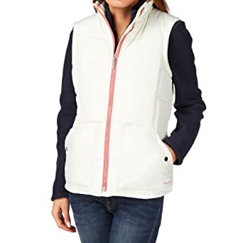 Weird Fish Felicity Women's Wadded Gilet - Size: 20, Color: Vanilla Ice