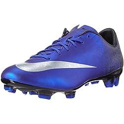 Nike Mercurial Veloce II CR FG, Botas de fútbol para Hombre, Azul (DP Ryl Mtllc Slvr-Rcr Bl), 42 EU