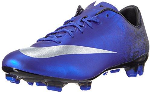 Nike Herren Mercurial Veloce II CR FG Fußballschuhe Blau (DP RYL Mtllc SLVR-RCR BL_404), 44 EU - Perforierte Leder-plattform