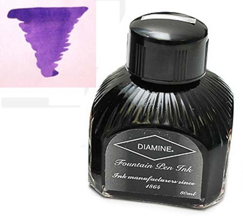 Diamine Refills Violet Bottled Ink 80mL - DM-7019 by Diamine -