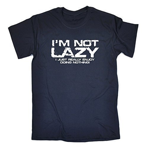 im-not-lazy-i-just-enjoy-doing-nothing-3xl-navy-new-premium-loose-fit-t-shirt-slogan-funny-clothing-