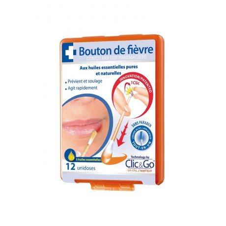 Clic&Go Bouton de Fièvre 12 Unidoses