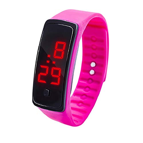 VJGOAL Student Uhren, Junge Mädchen Silikon Elektronik Beobachten Kind Student Sport Elektronische Uhr