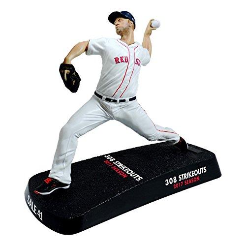 Imports Dragon 2017 Chris Sale Boston Red Sox 308 Strikeouts MLB Figur (16 cm) (Miniatur-baseball-kappen)