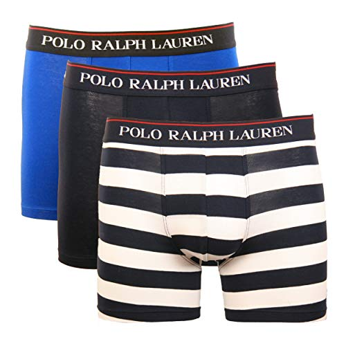 Polo Ralph Lauren Boxer Briefs 3er Pack Slipboxer etwas längeres Bein M Multi (003)