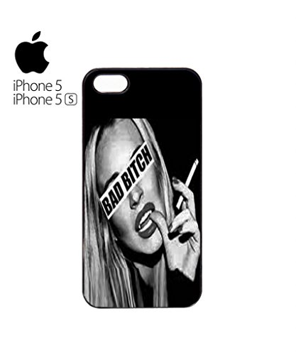 Bad B*tch Sexy Girl Mobile Cell Phone Case Cover iPhone 5c Black Blanc