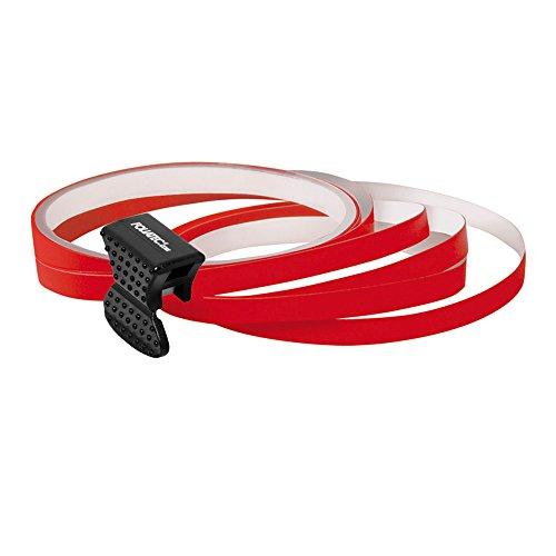 PIN Design Stripes per cerchi, B = 6 mm, incl. attrezzo di montaggio, rosso4 strisce … 6mm x 2,15 m, 1 striscia per prova 6 mm x 40 cm