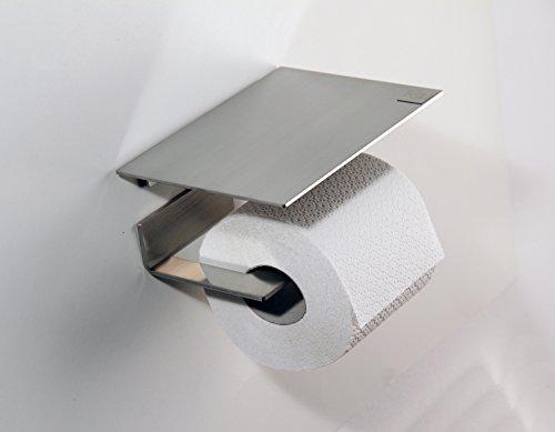WC Rollenhalter / Toilettenpapierhalter Mit Abstellfläche ...
