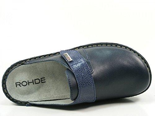 Rohde 6175-56 Cremona Mules femme changement semelle Blau