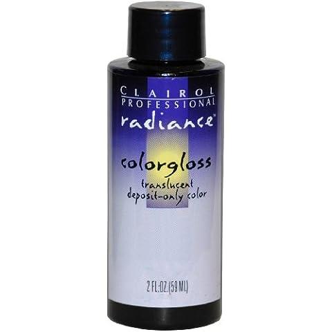Clairol Radiance Colorgloss semi permanente per capelli colore # 2N–Scuro Marrone Naturale 60ml (Confezione da 6)