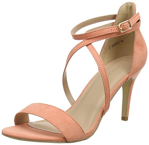 New Look sticked, Escarpins Bride Cheville Femme Pink (Light Coral 84)