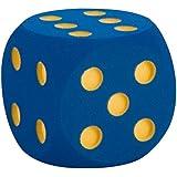VOLLEY Spielwürfel Schaumstoffwürfel Softwürfel Augenwürfel unbeschichtet, 16 cm
