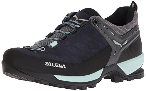 Salewa Damen WS MTN Trainer Trekking-& Wanderhalbschuhe, Blau (Premium Navy/Subtle Green), 40.5 EU