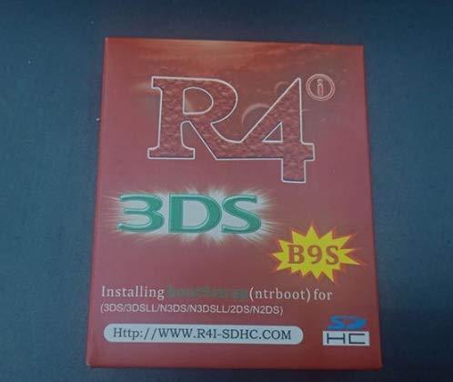 R4i-B9S unterstützt Luma3DS unter 3DS / 2DS