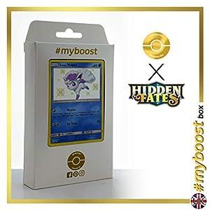 Alolan Vulpix (Vulpix de Alola) SV8/SV94 Variocolor - #myboost X Sun & Moon 11.5 Hidden Fates - Box de 10 cartas Pokémon Inglesas