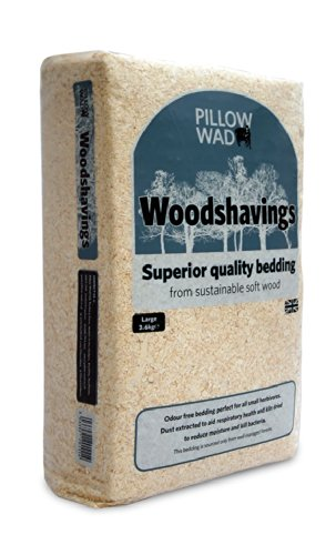 Pillow Wad Woodshavings, Large, 10.8 Kg (pack of 3 x 3.6kg) Test