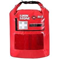 Luckstone 8L Verbandskasten Wasserdichte Tasche mit Sichtfenster Leere Outdoor Verbandskasten Outdoor Camping... preisvergleich bei billige-tabletten.eu