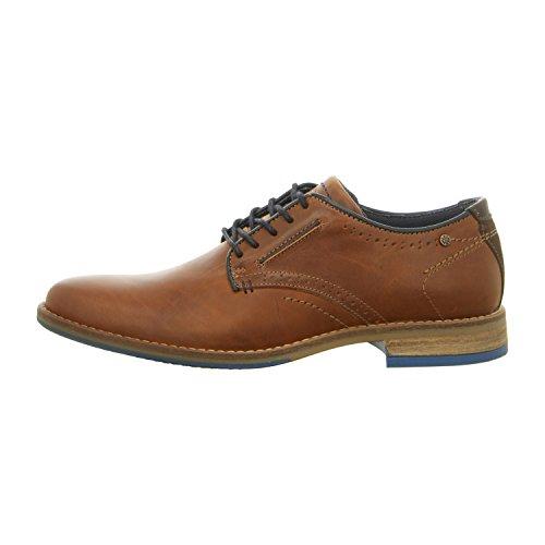 BULLBOXER  773k25263bp354, Chaussures de ville à lacets pour homme cognac (2499)