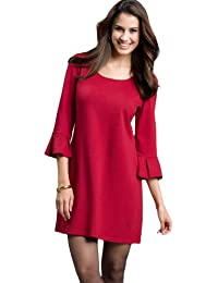 Ladies Red Cocktail Dress Womens Size 10 - 22 -Plus Sizes