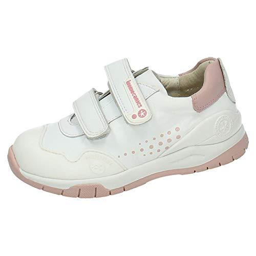 Biomecanics Zapatillas para Niñas, Blanco y Rosa 182195, 27 EU