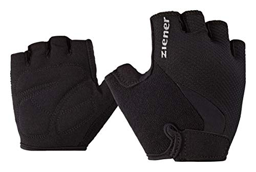 Ziener Kinder CRIDO junior Bike Glove Fahrrad-handschuh, schwarz (black), M Junior-handschuhe