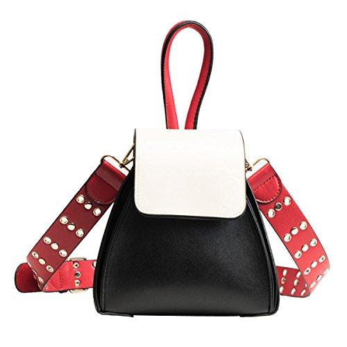 Damenmode Umhängetasche Diamant Diagonal Tasche Handtasche Black