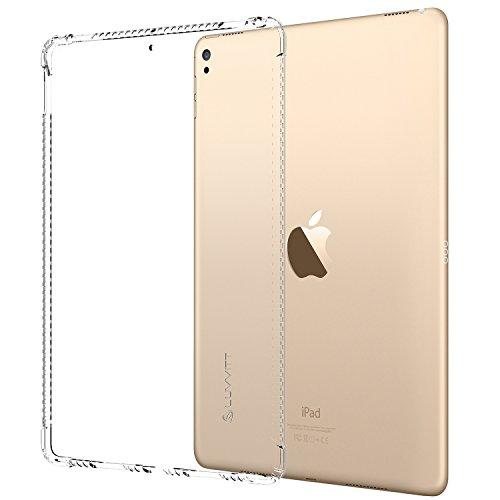 iPad Pro 12,92017Fall, luvvitt Gummi Grip Flexible Soft Transparent TPU Back Cover Transparent für das neue iPad Pro 212,9(2017) Air Bounce stoßfest Technologie, transparent