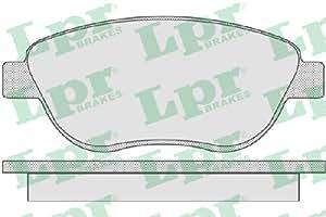 LPR - 437.01.22 - 05P807 - plaquettes de frein, frein à disque