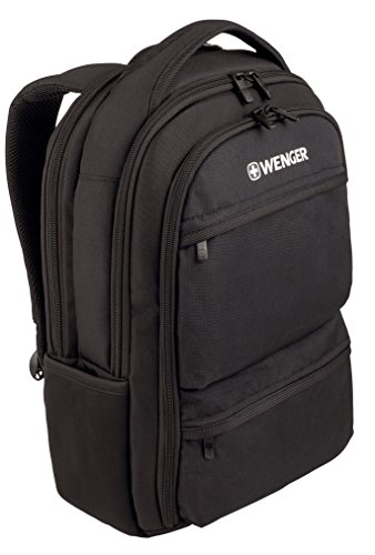 """Wenger 600630 Fuse - Mochila con compartimento acolchado para portátiles (16"""") color negro"""