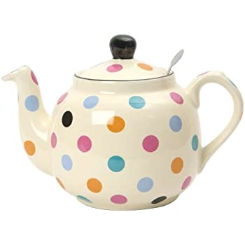 Spotty 6-Cup Filter Teapot