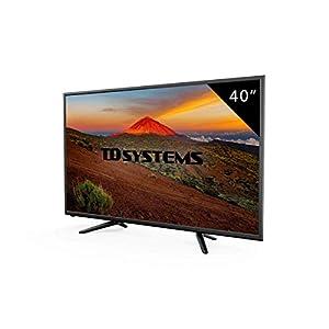 Téléviseur 40 Pouces LED Full HD TD Systems K40DLT7F. TV Full HD 1920 x 1080, 3X HDMI, VGA, USB Lecteur et enregistreur