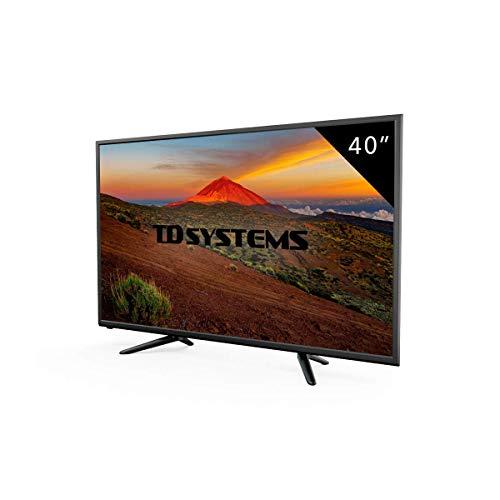 Foto TV 40 Pollici HD LED TD Systems K40DLT7F. Televisori Full HD, 3x HDMI, VGA,...