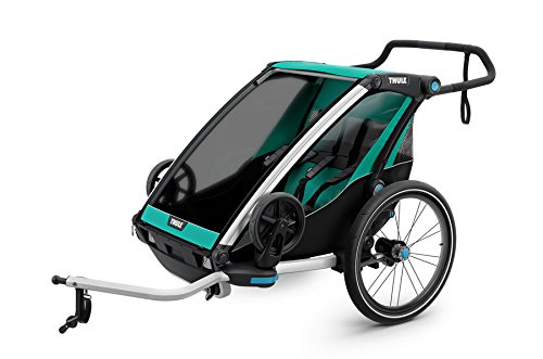 Thule Baby Lite 2 Chariot, Blau/Black, One Size
