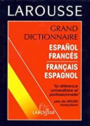 Grand dictionnaire espagnol-français, français-espagnol