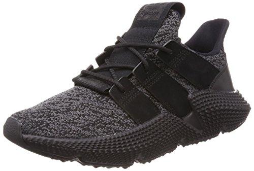 adidas Herren Prophere Sneaker, Schwarz (Core Black/Solar Red 0), 44 EU