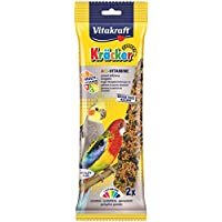 Vitakraft Cracker Multi-Vitamin X5 for Parrots, 2 Pieces - 180 gm