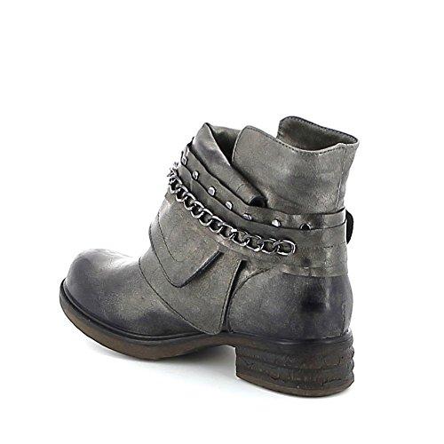 Low-boots avec chaîne Anthracite