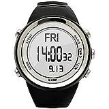 LISABOBO @ deporte de la manera del reloj digital relojes altímetro barómetro EZON h009a15 van de excursión de los hombres del reloj montañismo