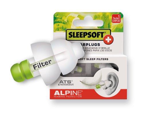 Alpine SleepSoft+ Bouchons d'oreilles pour dormir Blanc image 1