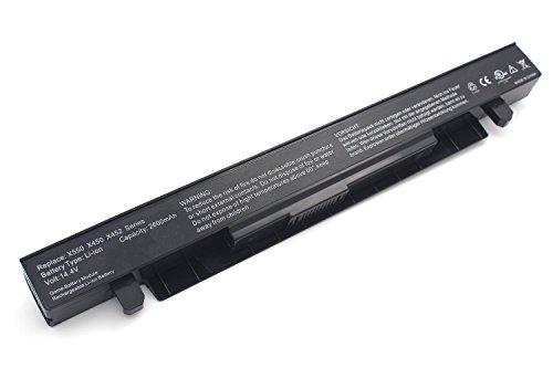 Golem-power A41-X550A 14.4V 2600mAh batería de Ordenador Portátil compatible con ASUS X450CA / X550CA / X552CL / FX50JK / F550C / R510CA