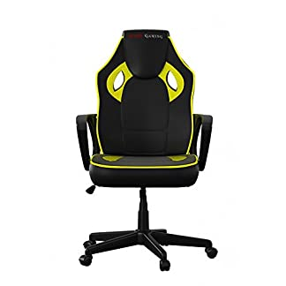 41D1ukjrQgL. SS324  - Mars Gaming Silla Gaming Profesional (Inclinación y Altura Regulables, resposacabezas Acolchado, 9 Colores)