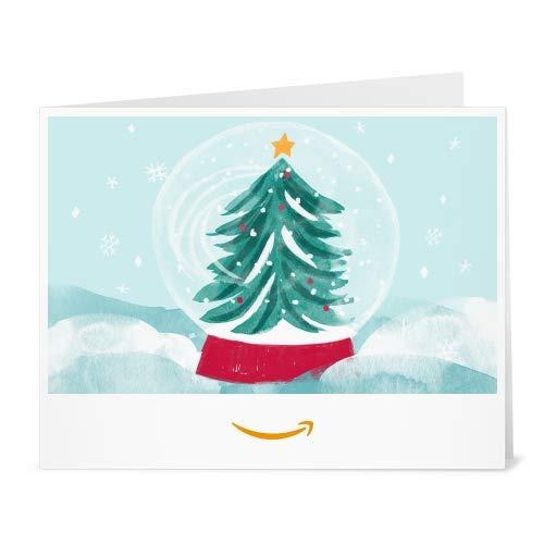 Amazon.de Gutschein zum Drucken (Schneekugel)