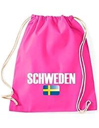 Camiseta stown Turn Bolsa Suecia País Países Fútbol, color rosa, ...