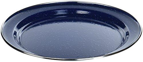 (Relags Emaille Teller, Blau, 26 cm)