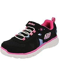 Zapatos de Niña, color violeta, marca Skechers zapatos de niña, modelo Skechers Vim–Brite violeta
