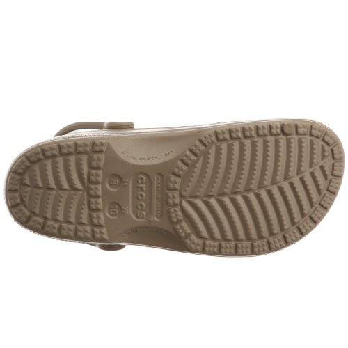 Crocs Unisex Baya Clogs, Brown (Khaki), 7 Uk Women 6 Uk Men (9 Us Women 7 Us Men)