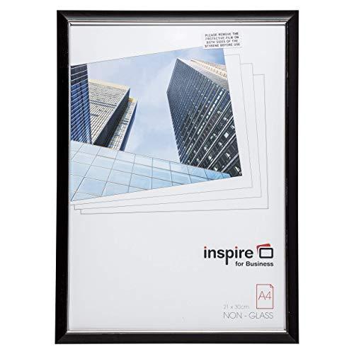 Easa4bkp facile Loader Cadre noir A4 certificat Cadre/photo/Poster avec non avant en verre