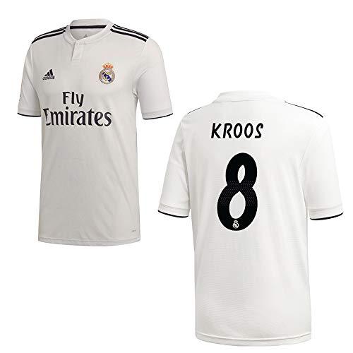adidas REAL Madrid Trikot Home Kinder 2019 - KROOS 8, Größe:140 (Real Adidas Trikot Kinder Madrid)